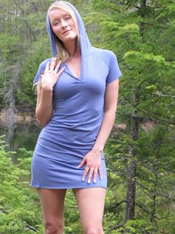 Merino Summer Hoody Dress